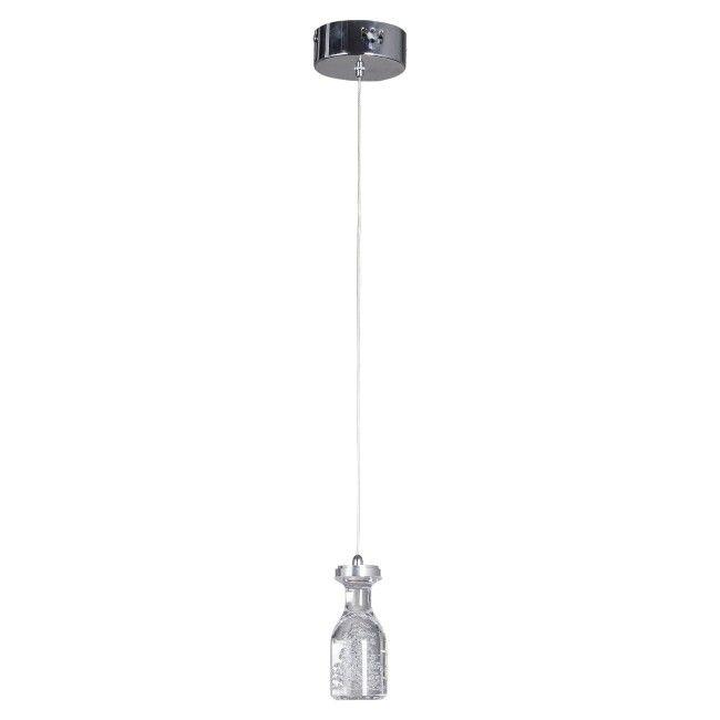 Lampa wisząca Bottle 1 x 5 W LED chrom