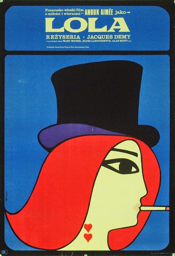 LOLA (Dir. Jacques Demy, 1961) - Polish poster