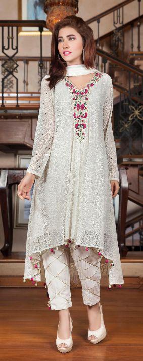 Top 10 Pakistani Most Beautiful White dresses #WhiteDresses #WhiteClothes…