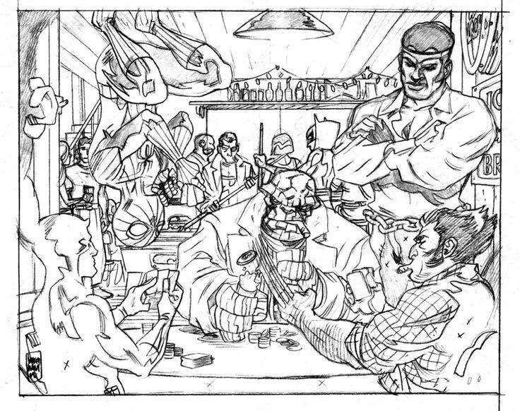 Marvel Malvorlagen Marvel Comic Helden Malvorlagen: 20 Besten Superheroes Coloring Pages Bilder Auf Pinterest