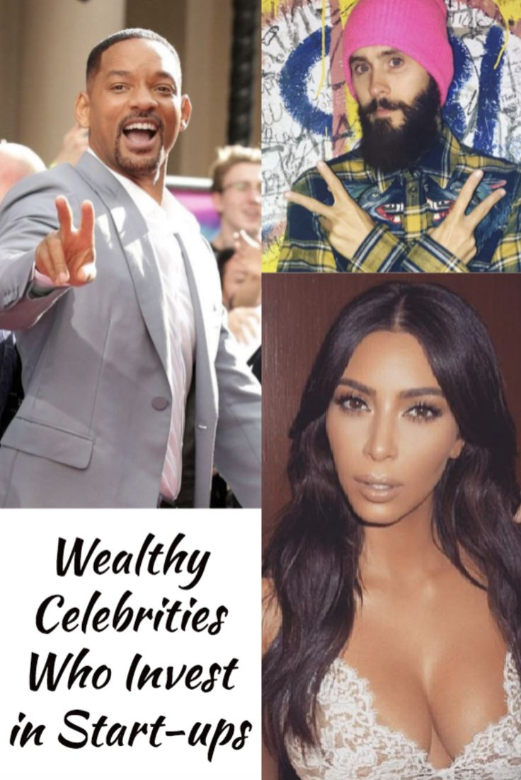 A list of 22 wealthy celebrities who actively invest in startups and tech companies.