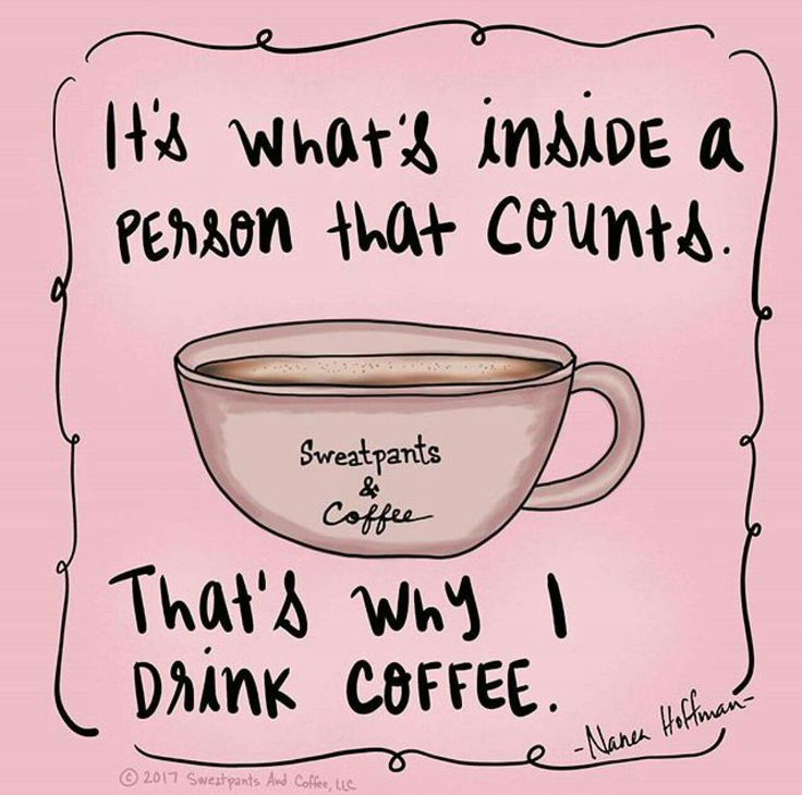 It's What's Inside That Counts ;)☕