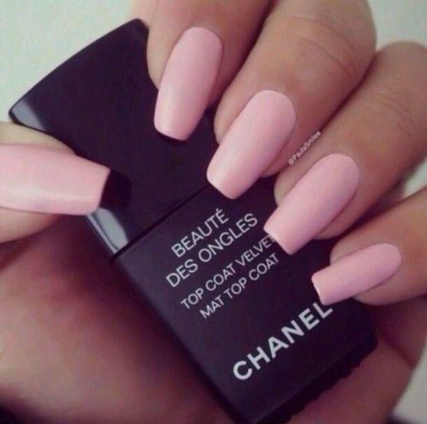 acrylic, chanel, fashion, girl, girly, love, mat, matte, nails ...