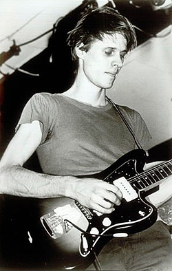 Television's Tom Verlaine in a late-1970s Elektra Records promo photo.