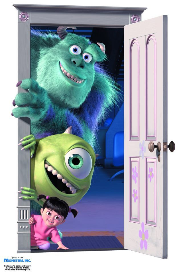Sully, Mike, and Boo - Monster's Inc.