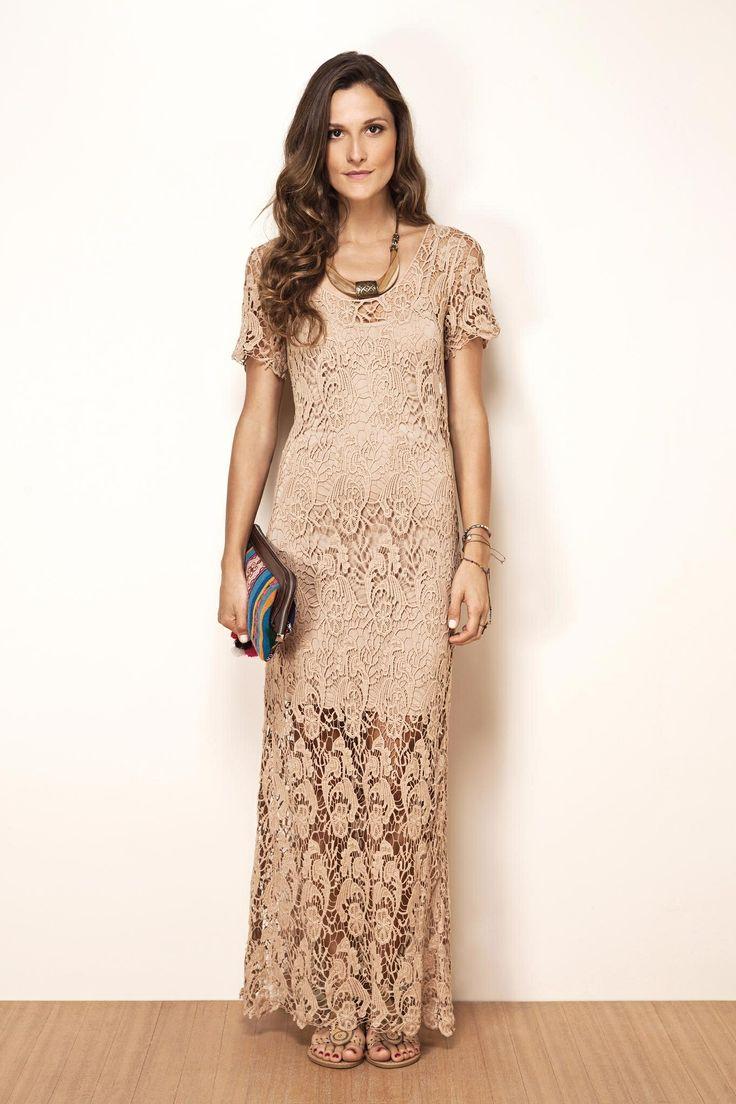 dress, vestido de renda, guipir [Farm]