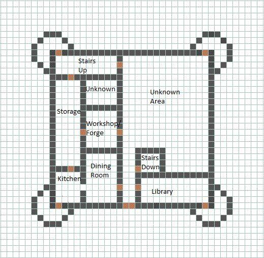 Blueprint for a house Minecraft