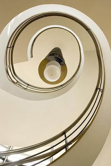 spiral at the de la warr by Jason Webber, via Flickr