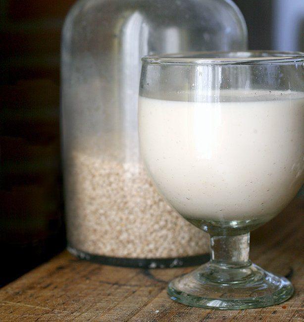 latte di sesamo home made