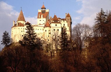 Dracula's REAL castle and other famous castles from the Medieval ages - view all the amazing buildings here!