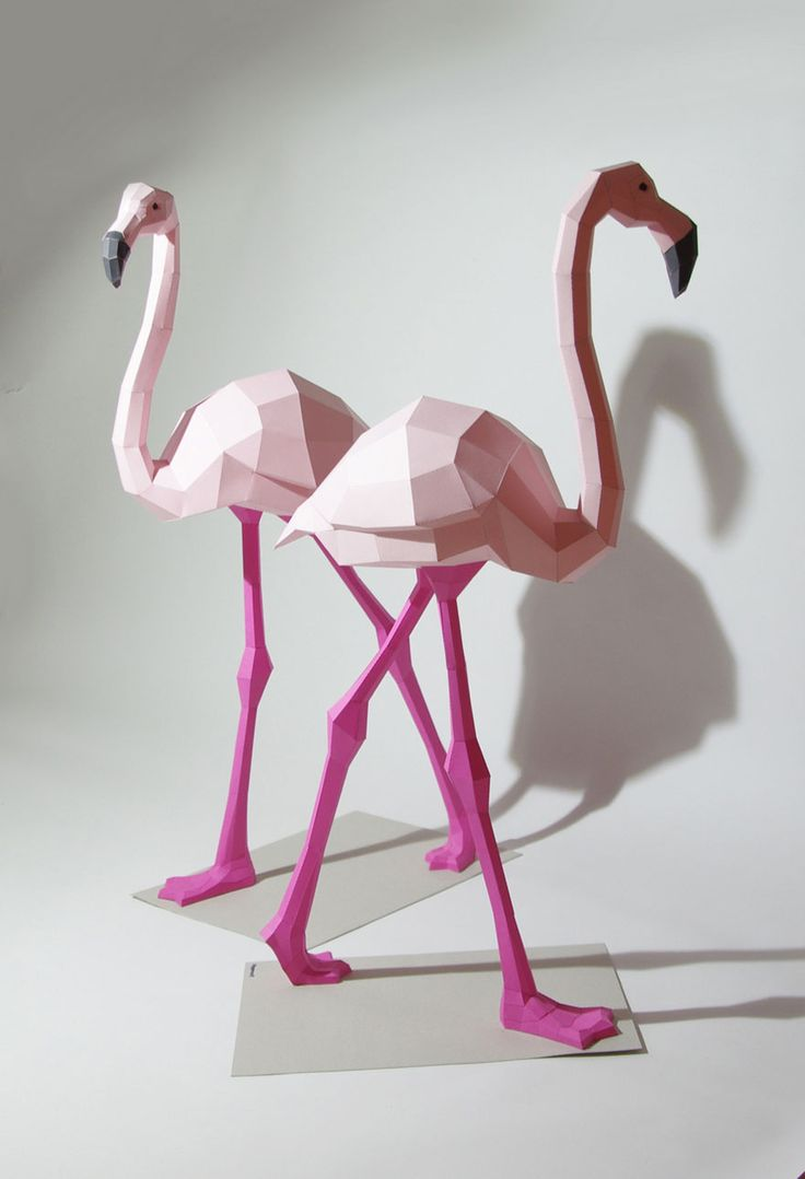 Geometric Sculptures By Wolfram Kampffmeyer Bring Whimsical Animated Animals To Life!