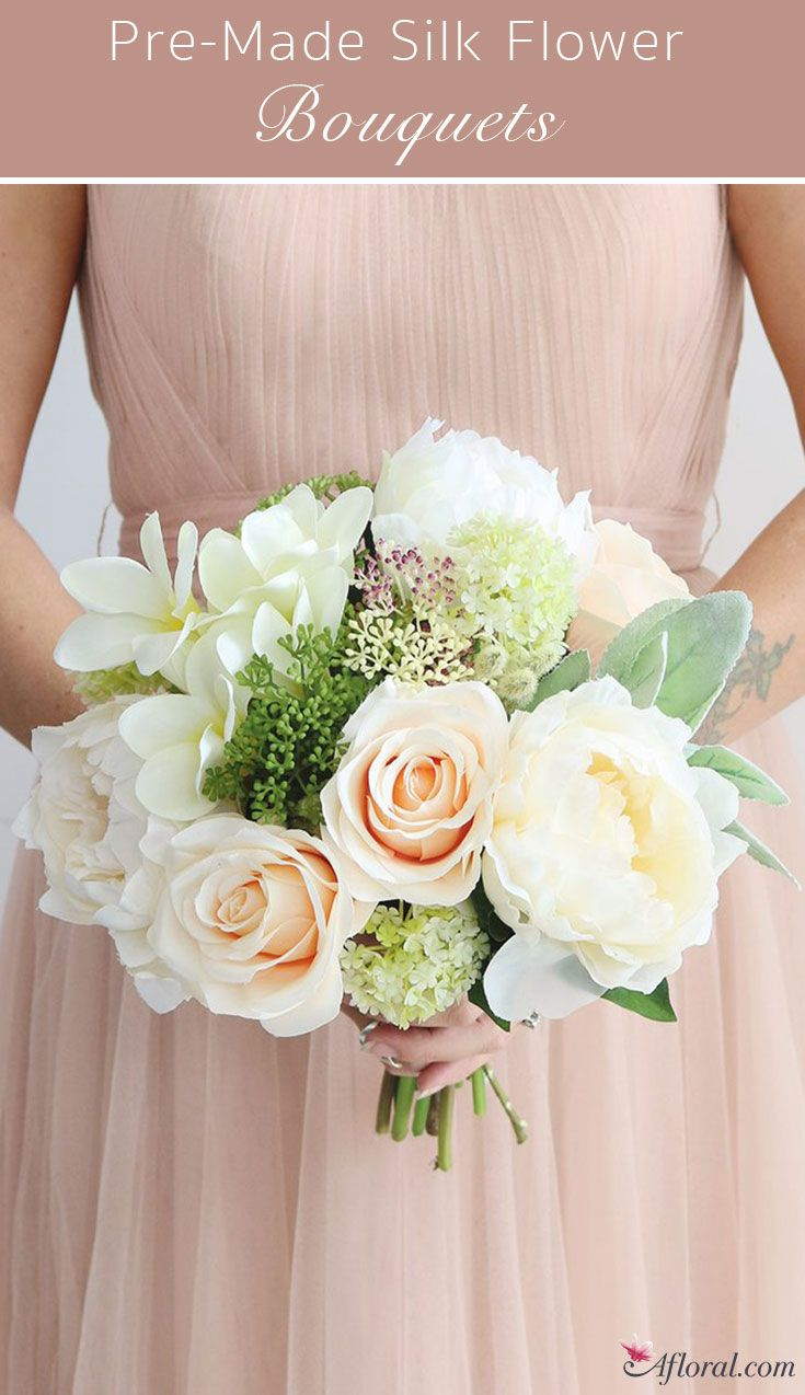 Making Wedding Floral Shopping Easy With Pre Made Silk Flower