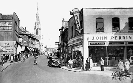 Photo of Guildford, North Street c1950 - Francis Frith