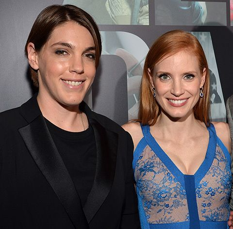 Alix's second suggestion was Megan Ellison, here with ... Jessica Chastain Wikipedia