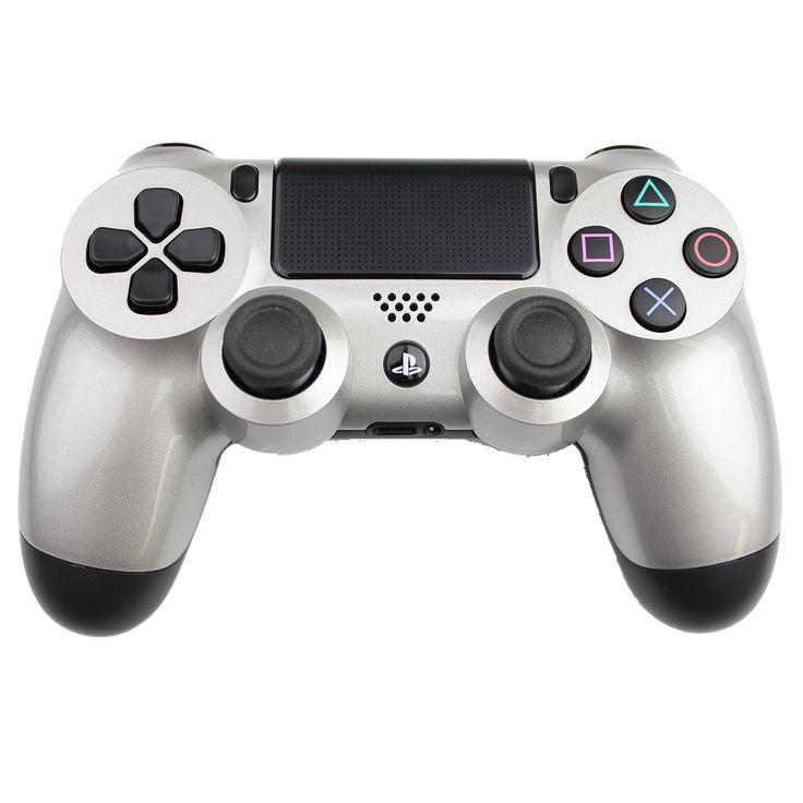 MorbidStix - Build a Silver PS4 Controller, $69.99 (http://www.morbidstix.com/stock-oem-ps4-bottom/)