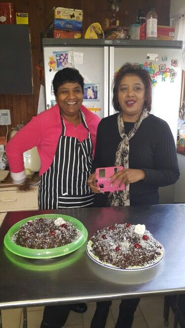 Cake baking today