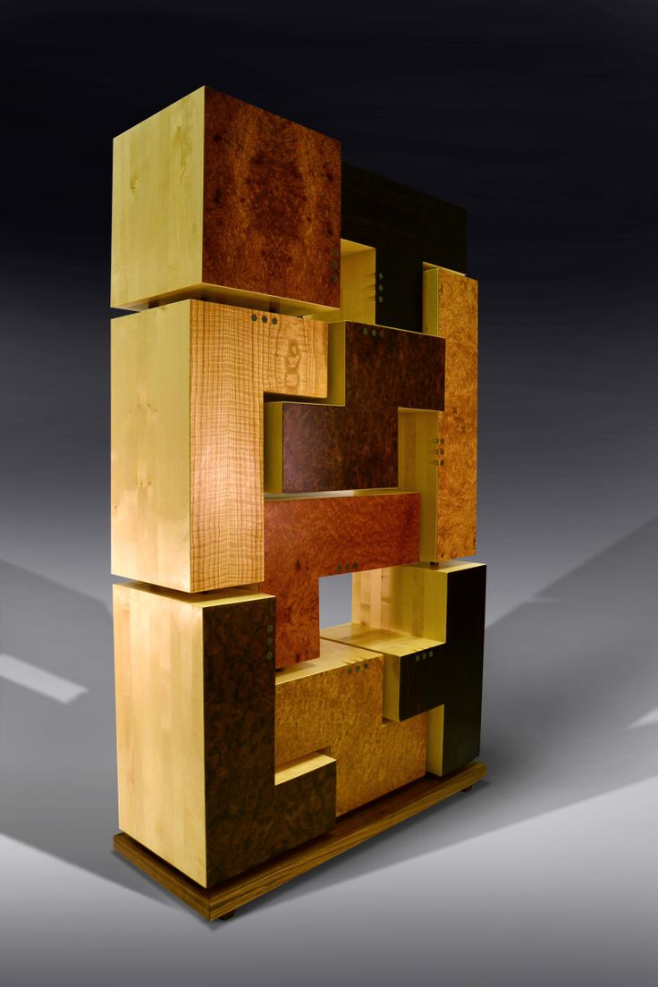 Superior Tetris Cabinet   By Mos Bespoke Furniture. The Shapes In This Highly Unusual  Storage Cabinet