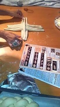 tatlı ekmek hamur shabbat altı / yedi Örgü