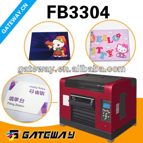 Eco solvent postcard printing machine