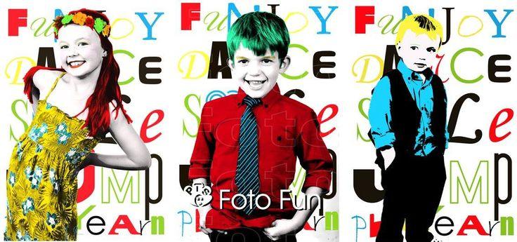 Campbell kids Pop Art 1, PT´s Foto Fun