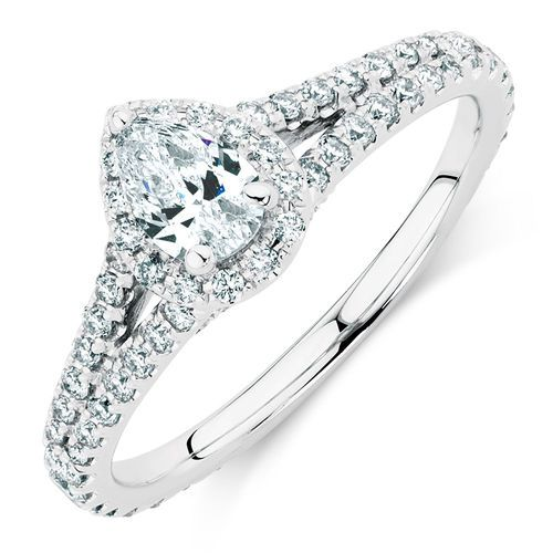 1 Carat TW Diamond Allegro Ring #michaelhill