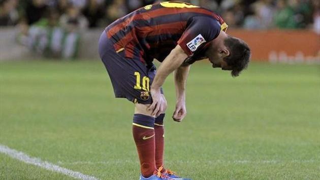 Liga - Barca fertigt Betis ab, Messi verletzt