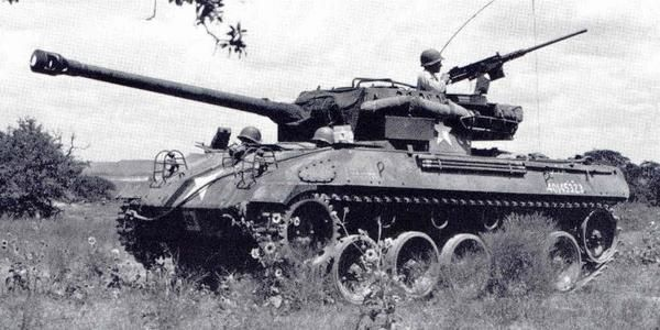 M-18 Hellcat Tank Destroyer. The Fastest AFV in all of WW2. Could go 60 mph on good roads. This is the tank my grandfather commanded!