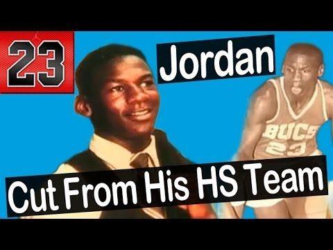 Michael Jordan - Cut From His High School Team
