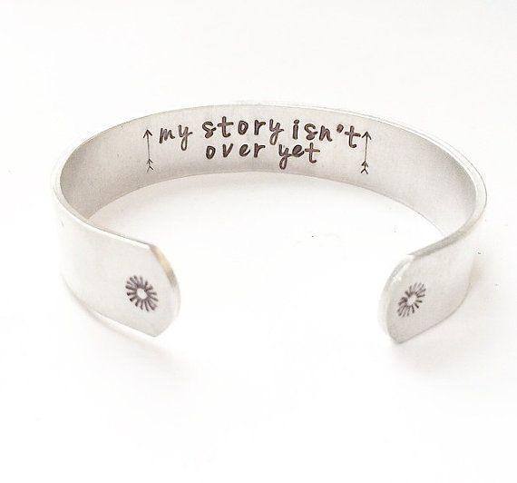 Semicolon Bracelet. Semicolon jewelry. My by MysticSoulJewelry