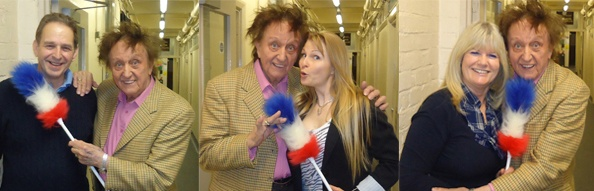 Ken Dodd tickles some members of our Wessex committee... all in a day's work!