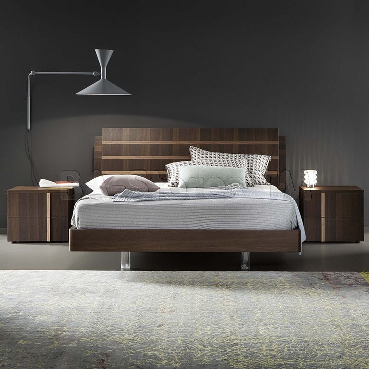 Rossetto USA Tratto Platform Bed by Rosetto