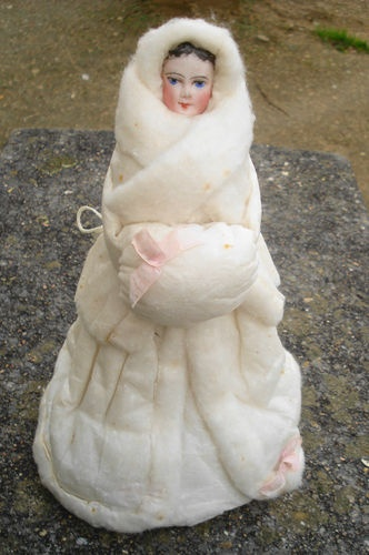 Beautiful Antique Doll Parian Candy Box | eBay