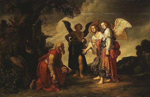 Питер Ластман. Авраам и Три Ангела