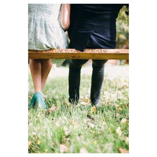 """""""I will love you always and forever"""" #willowandvine #sallybay #customdesign #rustic #style #eventdecor #twoseatswing #mint #heels #love #wedding #reception  #engagement"""