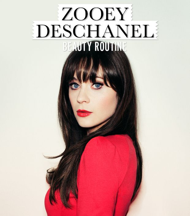 Always wanted to look like Zooey Deschanel? We sat down with the funny girl to get all the details of her daily beauty routine!