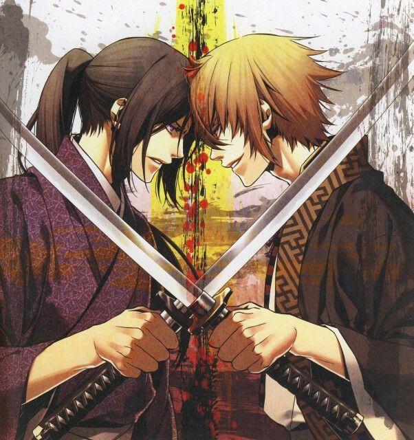 Hijikata & Kazama - Hakuoki Shinsengumi