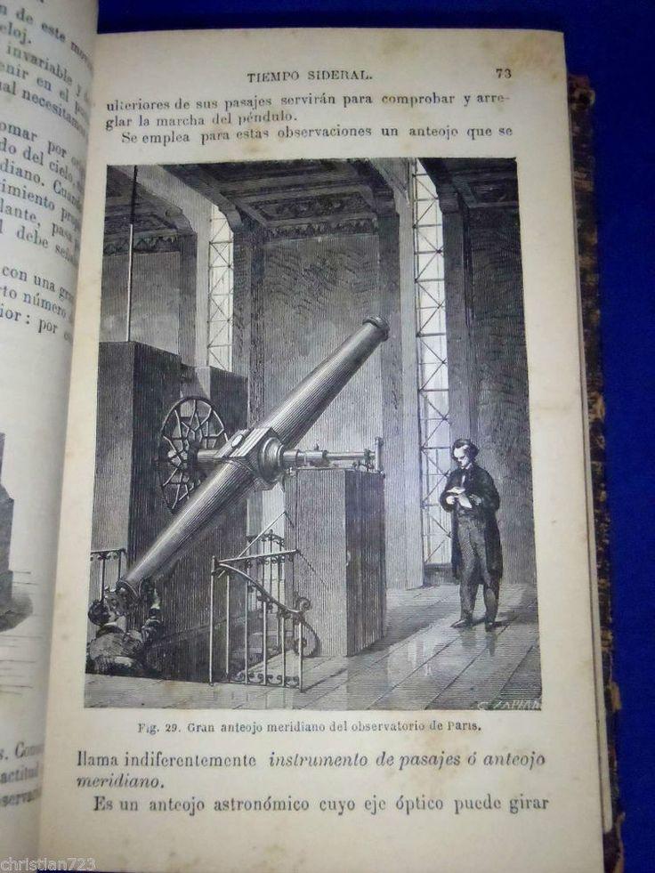 COSMOGRAFIA  ASTRONOMY NEBULA ECLIPSE COMETS MOON TELESCOPE ILLUST!. XRARE! 1888