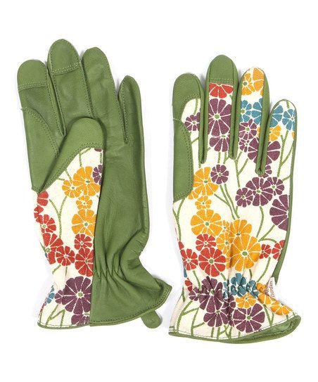 garden morning glory gardening gloves