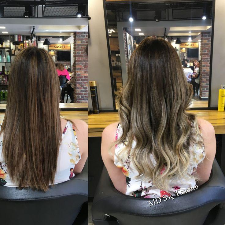 Saça dâir herşey bu salonda 😎 #ombre #ombrehair #ombrebalyaj #izmir #kuaför #degisim #newhair #trend #trendhair #goztepe #kucukyali #bostanli #karsiyaka #buca #hairtransformation #hairstyler #hairdesign #hairdresser #instahair #instagood #efsanesaclar #mdsactasarim @mdmetindemir