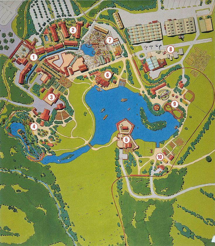 106 Best Theme Park Master Plans Images On Pinterest