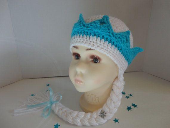 Elsa Crochet Hat. Frozen Hat. Frozen by Danielascreations on Etsy