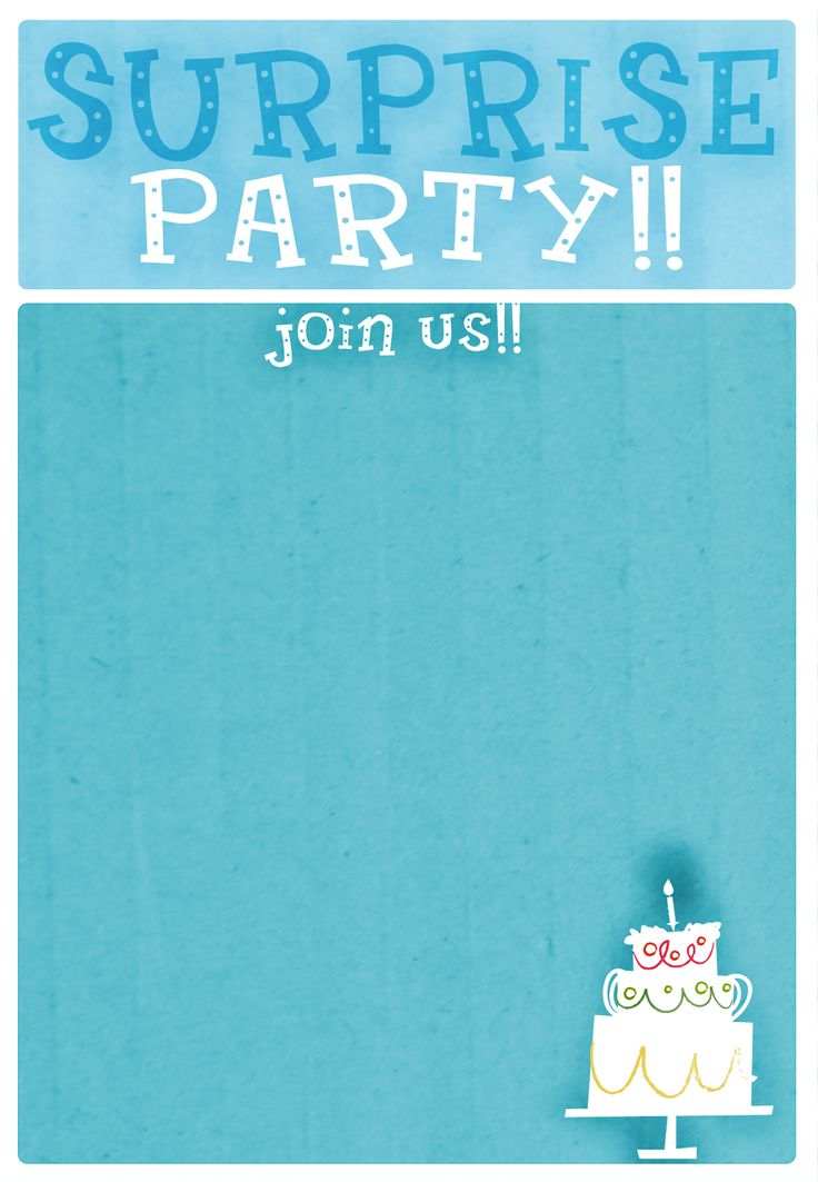 594 best printable party invites images on Pinterest | Sew ...