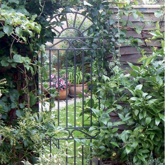 Garden Design | Where Can I Find A Mirrored Garden Gate?