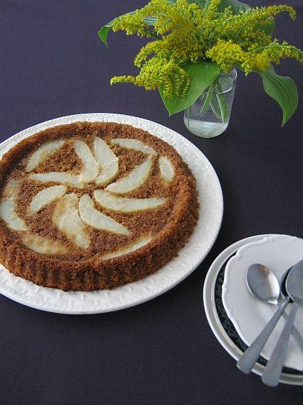 Obrácený hruškový koláč | Le blog de Pipi