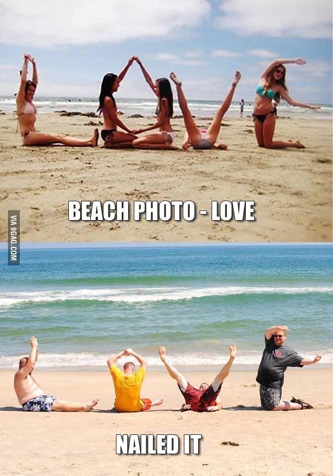Beach photos: LOVE - Nailed it!