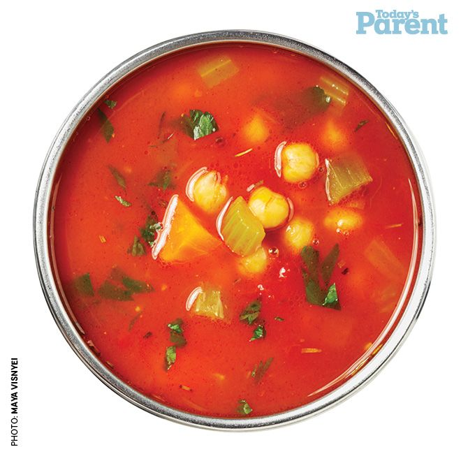 Tomato Chickpea Soup -- Today's Parent