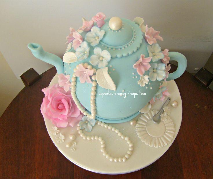 teapot cake - Cerca con Google                                                                                                                                                                                 More