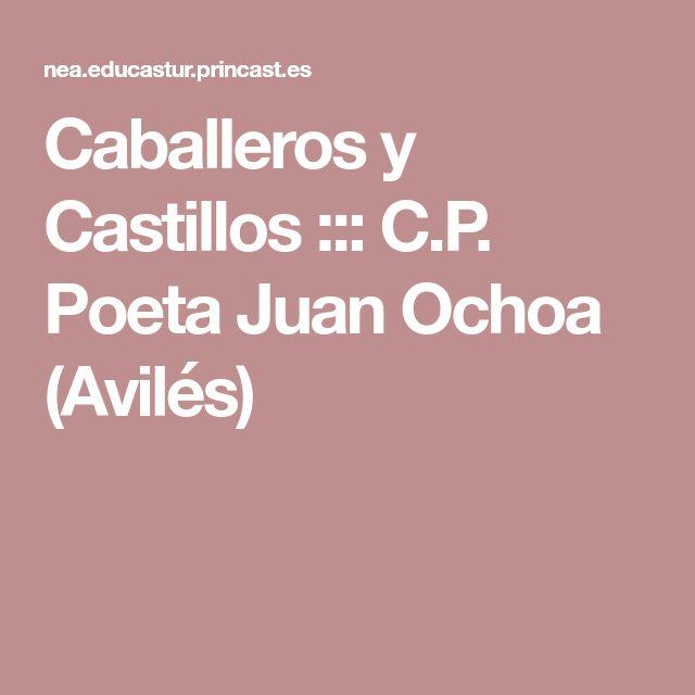 Caballeros y Castillos ::: C.P. Poeta Juan Ochoa (Avilés)