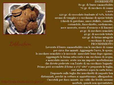 Tre ricette di biscotti natalizi: Lebkuchen.