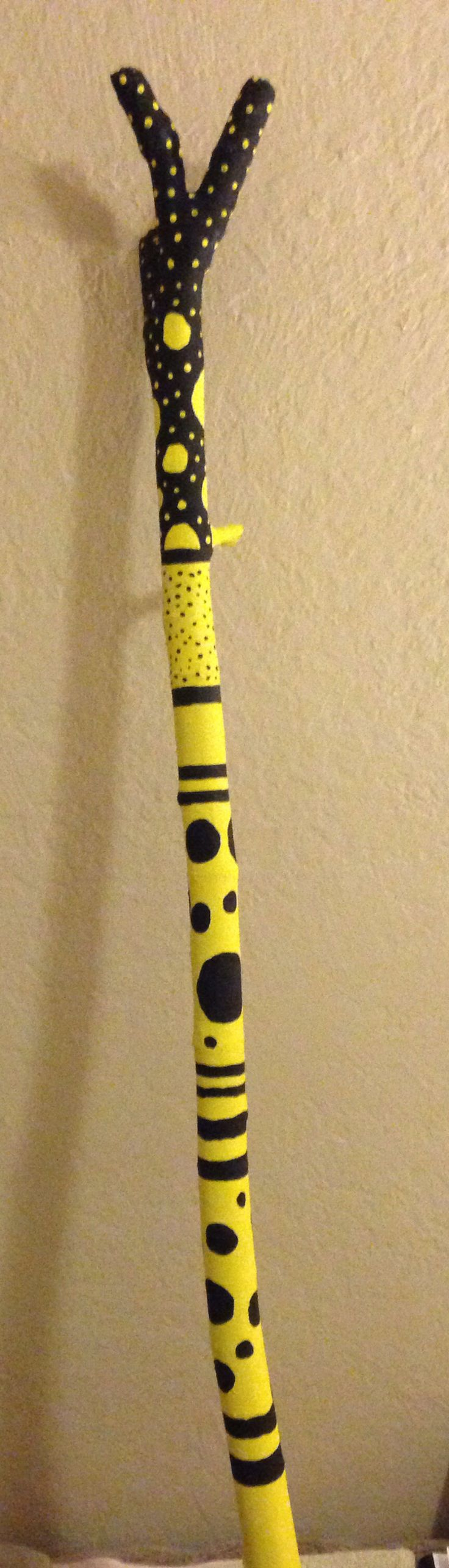 Painted stick # 2